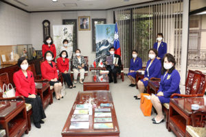 台湾領事館訪問